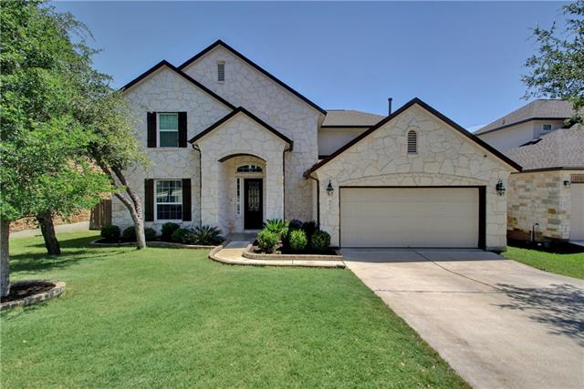 Gorgeous home in sought after Ranch at Brushy Creek community, 2 bedrooms with walk-in closets plus 2 full baths downstairs with a living room/game room with closet, 3 beds with walk-in closets and full bath upstairs make this perfect home. Large kitchen with granite counters opens to family room. Close to major employers and roads. Excellent RRISD schools.