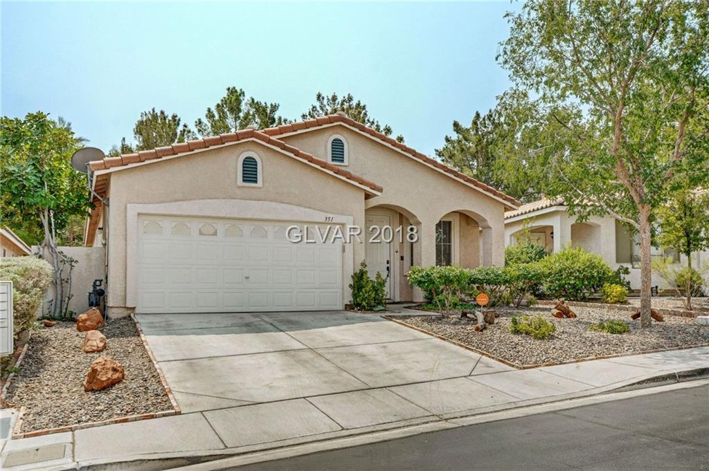 GATED GREEN VALLEY RANCH HOME WITH A NEW HEATED POOL & SPA..CAN'T DREAM OF BETTER BACK YARD  IT SO PICTURESQUE BY PEACEFULLY  SURROUNDED TREES  MAKING BELIEVE IT'S NOT A DESERT.. AND NO ONE IS  BEHIND!!!. 3 BDRS WITH MASTER SEP.FROM OTHER.. ONE BDR COULD BE OFFICE OR DEN & OPEN TO THE POOL.. SPACIOUS DINING /LIVING ROOM.. BREAKFAST NOOK...KITCHEN GOOD SIZE AND HAVE ALSO SERVING COUNTER..MODERN  APPLIANCES HOME VERY CLEAN.. PORCH TO ENJOY  SUNSET