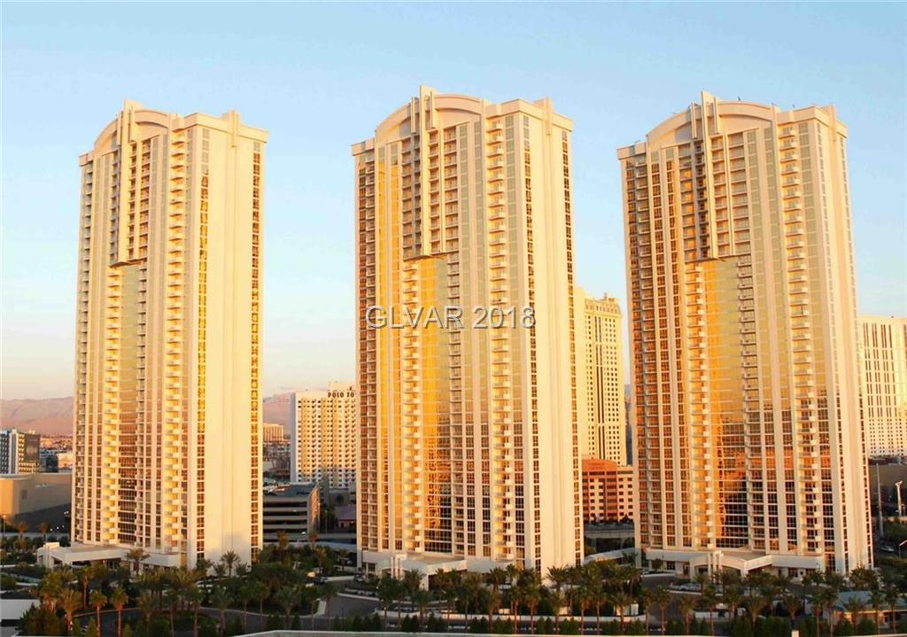 Tower 1, 1 Bedroom & Studio combo (2702 & 2704) on 27th floor with Balcony & Top Golf and Pool Views! Designer furnished turnkey. Jacuzzi tub, plasma TVs, custom Snaidero cabinetry w/ granite counters. Designer furniture & furnishings. Owner's pool/spa, lounge, gym, valet, concierge & access to MGM Grands amenities: Pool/spa, casino, shopping & restaurants