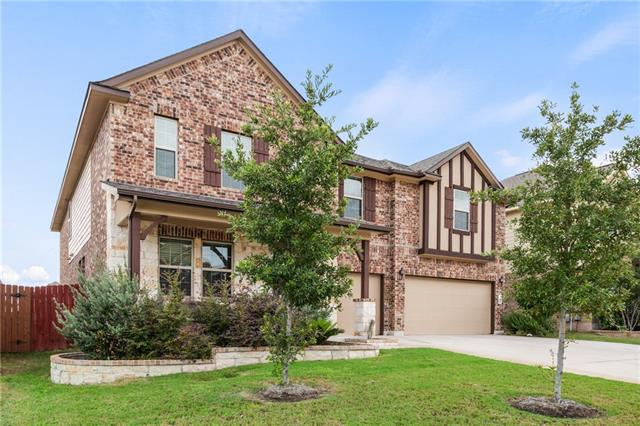 Stunning, spacious family home on a low traffic, cul-de-sac street in one of Pflugerville's nicest master planned communities, Falcon Pointe. Priced to sell! This home boasts 4 bdrms, a huge game room, formal dining, a study & a media room with a bar area. Media room does have a closet, could be a 5th bdrm. Loaded with upgrades, high ceilings, granite, tile, upgraded cabinets & more! One of the bedrooms upstairs has it's own private bathroom. This home still feels new & has been extremely well kept.