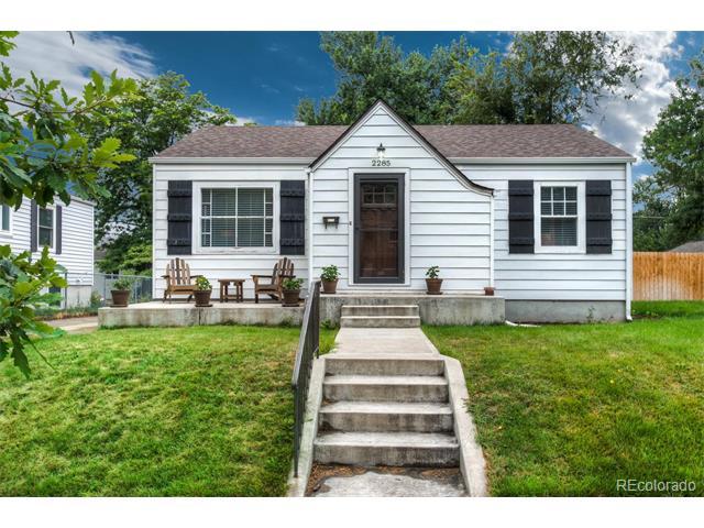Picture of home in 2285 South Ogden Street Rosedale Denver CO Neighborhood