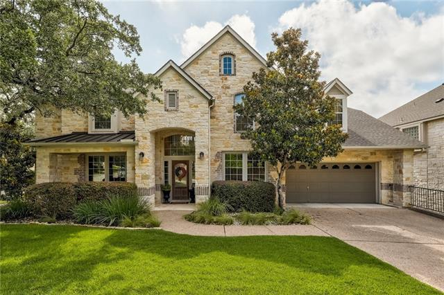 Beautiful home located on a large corner lot in Twin Creeks! The home offers well appointed living spaces with main level guest quarters, master suite w/sitting area, jet tub & walk-in closet. Features include, hardwood floors, island kitchen, Silestone countertops, stainless appliances, formal dining, study, media/gameroom w/Dolby surround sound, projector, TV, speakers & wet bar. Home has Wifi cameras, wired for security system, 2-unit/4-zone HVAC, custom landscaping, covered patio, upper deck & more!