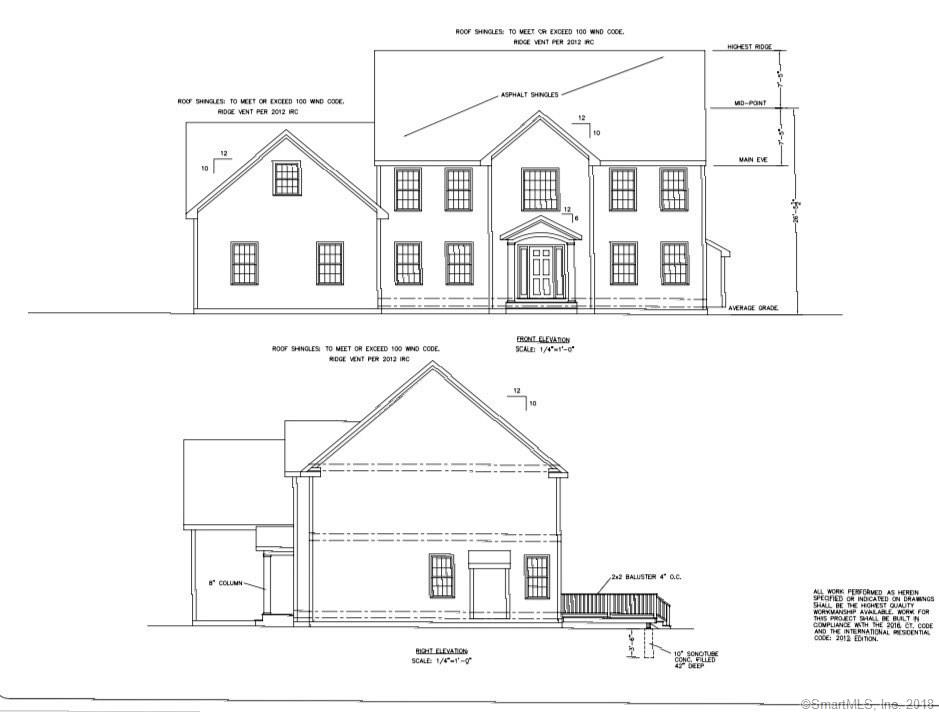Location! Location! Location! New Construction Colonial in the heart of Huntington Center. Walk to the Green to watch the Summer Concerts and let the kids play at the Community Center but at the end of the day be on a private rear lot. Construction has begun on this 2900SF colonial with a 3 car garage with all today's amenities.  Large Chefs Kitchen with white painted cabinets, large island, granite counters and open to a large family room with Barn Doors and gas fireplace.  Builder has kept the needs of today's family in mind with a large mudroom with built in cubbies off the garage. Matersuite has his and hers WICs, large bathroom with double sinks, large tile shower and soaker tub. The large laundry room has Walk Up Attic access. Optional Bonus Room above the 3 car garage for Man Cave, or Play room. Call now for details!