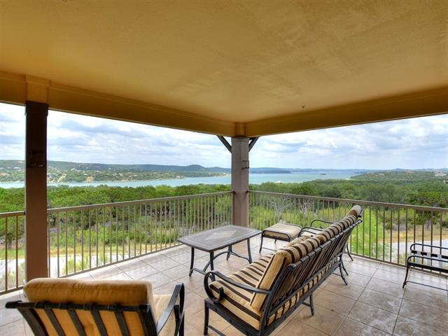 Beautiful views of Lake Travis on your own covered patio. Wonderful 3 bedroom, 3 bath condominium is located on the 3rd level of the building. The Hollows has a private resort beach club, marina, boat ramp and breathtaking views! This villa has the best view and floor plan of the existing inventory. It is a must see premium Hollows Hilltop Villa. The views from almost every corner will amaze you. Come visit and imagine the lifestyle. Vacation Rental optional.