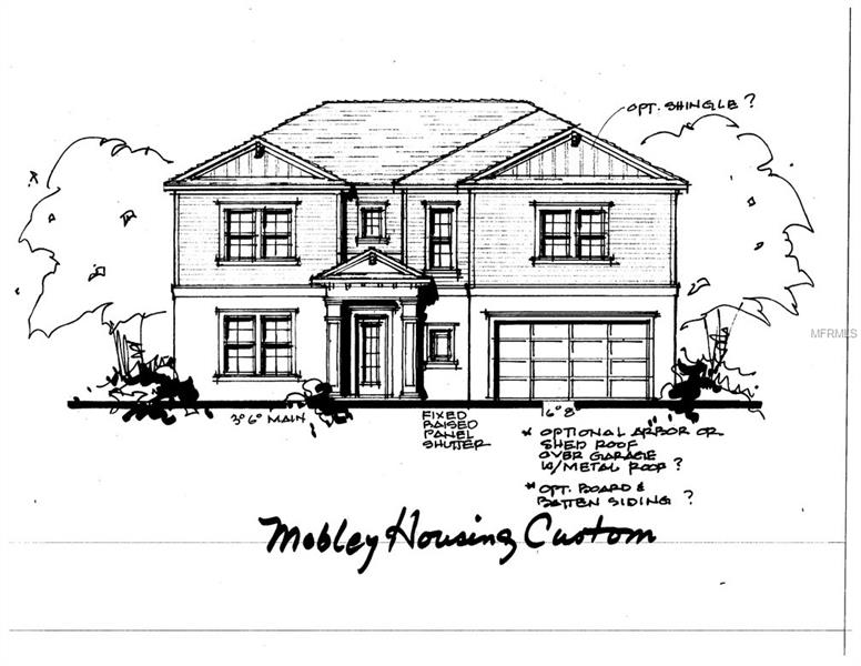 """Pre-construction. To be built in Bayshore Beautiful. It's fun to walk to the YMCA! New Construction from Mobley Homes on wide 75 x 89 lot in the Roosevelt/Coleman/Plant School District. Fantastic value for amazing schools! Everything you would expect from one of South Tampa's best builders, including 10' ceilings, 8' doors, a double AC system & high-end finishes. You'll appreciate the open island kitchen, feat. stainless steel appliances, farm style sink, eat-in cafe area, walk-in pantry, & Level 2 - 42"""" cabinets. The family room opens to huge covered lanai & backyard via two French doors, and the lower level also features a formal dining room, as well as, a guest room and bath perfect for any future pool.   Owner's retreat upstairs features a spacious master bedroom, massive double closet, double vanity bath w/Level 2 cabinets, and well as, a tub & shower combo. Conveniently placed upper-level utility room for laundry. Four bedrooms upstairs, 5 in all. Photos are of a similar plan in different stages of completion. Plan/finishes may vary. Completion August 2019. Incredible included options...  Generous Allowances for Appliances, Lighting, & Plumbing/Bath Fixtures, Level 1 granite throughout, Level 1 wood on 1st floor (excluding baths and bedrooms) & stairs, wrought iron stair railing, 5"""" crown molding on first floor (excluding bedrooms and closets), all Windows and Doors Cased with 3.5"""" Delta Howe Casing, as well as, pavers for Driveway, Rear Patio, & Front Porch. Call for details."""