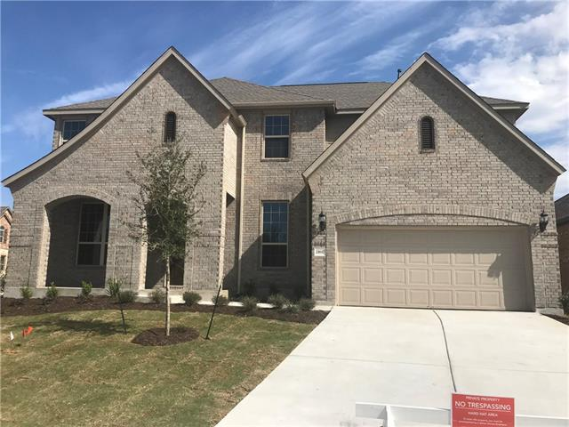 Spacious two-story Brown design on a CORNER LOT, offers Study with French Doors, Formal Dining Room, Game Room, Media Room with step-up, Formal Living Room, Fire Place, Covered Patio, and walk-in closets in all bedrooms. Full Sod/sprinklers. Estimated completion in March.