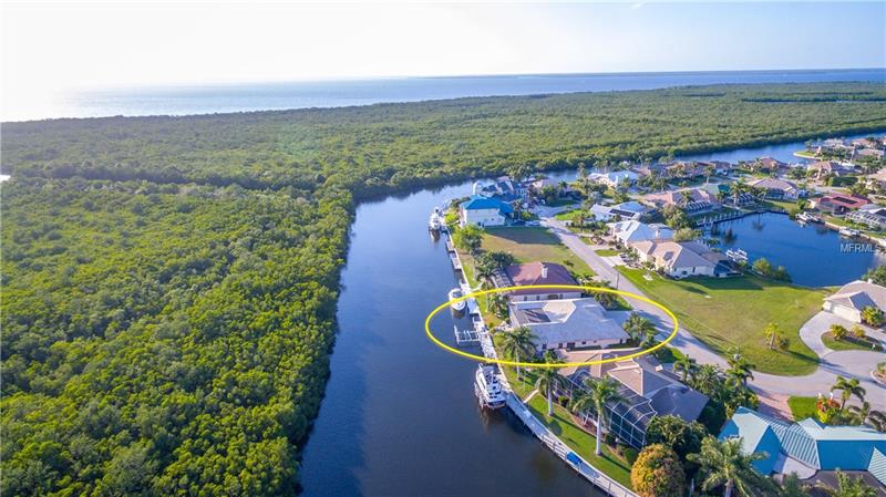 PRIVACY!  VIEWS! BOATER'S DELIGHT! 80' PERIMETER CANAL LOCATION, 15 minutes to Ponce, Southwestern Rear Exposure, 63' CONCRETE DOCK, 30K Boat Lift, 2K Dinghy Davit, 2 30A Circuits & Water,