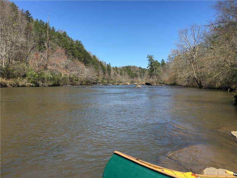 This is a rare opportunity to own a Nature Preserve on Georgia's Chattahoochee River. Chattahoochee River Preserve Tract One is in Hall County Georgia. 307 acres with over 3,700 feet on the Chattahoochee River. Pristine Forest along the eastern side of the Chattahoochee. Wildlife sanctuary, gorgeous hills, valleys, streams, little waterfalls, river rapids, interior roads, and mature hardwood and pine forest.Excellent canoe/kayak water.Great hunting and fishing . Property borders Habersham County and is located within 4 miles of Hwy 365. Additional 221 acres available.