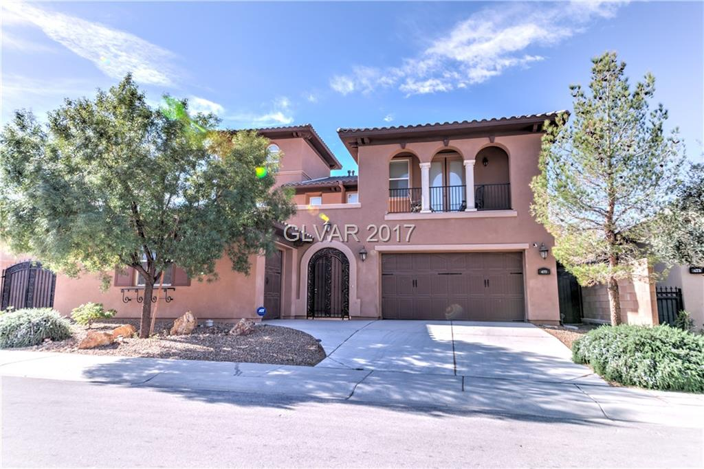 BEAUTIFUL HOME LOCATED IN THE GUARD GATED GOLF COURSE COMMUNITY OF TUSCANY W/ LOTS OF MOUNTAIN VIEWS & CUSTOM UPGRADES  INCLUDING HUGE KITCHEN GRANITE ISLAND AND GRANITE COUNTERTOPS. THE 2ND BEDROOM HAS A DOOR LEADING TO THE BALCONY AND 3RD LEVEL FEATURES A LOFT. A VERY MOTIVATED SELLER, SO LOOK NO FURTHER. FURNITURES CAN BE BOUGHT OUTSIDE OF ESCROW. .