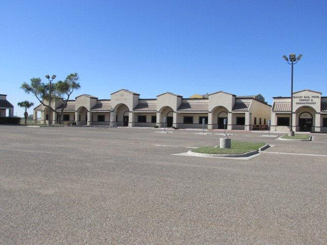 5 units consisting of approximately 3,150 sqft. each.  Units vary in set up for large conference rooms, Dr. Offices, Home health care , cubicals, exam rooms, complete with private bathrooms, server rooms, common areas, waiting rooms, reception areas, private offices, kitchen area, and file storage.  Perfect location in RGC, with new development, high traffic count and visibility.  Investment opportunity to lease spaces to generate income.  Additional business' within the complex such as CVS P harmacy and Renaissance Dr. Hospital office. Large common area parking Lot.