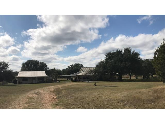 Beautiful 10 Acres Texas Hill Country, 2 Homes, Main Home is 2616 SF, 3 Bedroom, 2 Bath,2 Living Areas, Formal Dining, Formal Living, Large Kitchen, Wrap Around Porch, Metal Roof, Second Home is 768 SF 1 Bedroom 1 Bath, W/Kitchen/Living/Dining, 2 Water Wells Storage Tank 1200 Gallons, 10 Acres Gives You Plenty of Acreage for Horses, Cattle or any Small Agricultural Venture, Baylor Scott & White Hospital, Hill Country Views, No City Taxes, Don't miss this one!