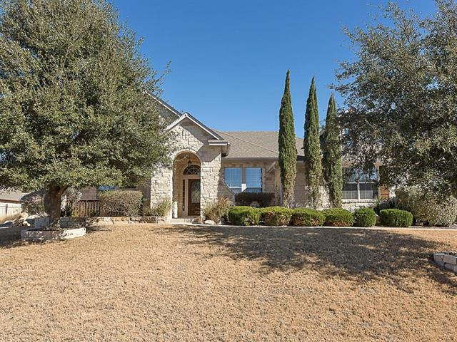Wonderfully charming single-story home on an oversized lot in the gated Fairways at Crystal Falls. Great curb appeal & spacious backyard that features mature landscaping. Updated wood floors in the main areas showcase the high ceilings & great light. Open kitchen with granite counters, center island & amazing storage. Spacious family room with stone fireplace and built-ins. Large master suite with jetted tub & separate shower. Additional living room connected to secondary bedrooms & study. 3-car garage.