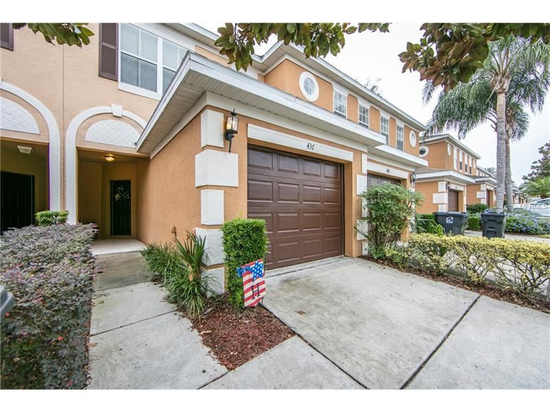 Make your appointment today to view this beautiful townhome in the community in Towns of Legacy Park. This home is 2 bedroom, 2.5 bathrooms. Walking in is the door to your attached one car garage and kitchen. Kitchen features lots of cabinet and countertop space along with your range, microwave, dishwasher and refrigerator. The first floor features tile throughout. Living room opens up to your covered and screened in patio with no rear neighbors. Upstairs features the 2 bedrooms and 2 bathrooms and washer and dryer. Community features community pool. Conveniently located off of Hwy 27 with a quick commute to 192 to get to Disney and I-4.