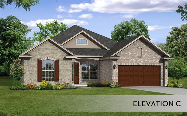 CastleRock's Santa Barbara gold plan scheduled for Nov completion!Elevation C! Located in the desirable Overlook gated section of Ranch at Brushy Creek, this home has and open plan for easy entertaining and living! HUGE kitchen with eat in island, walk in pantry,white cabinets with granite counters and stainless appliances! Private Study or flex room! Second dining area for entertaining! Owners retreat with bay window and great closet! Features include covered patio, wood flooring, sprinkler, and more!