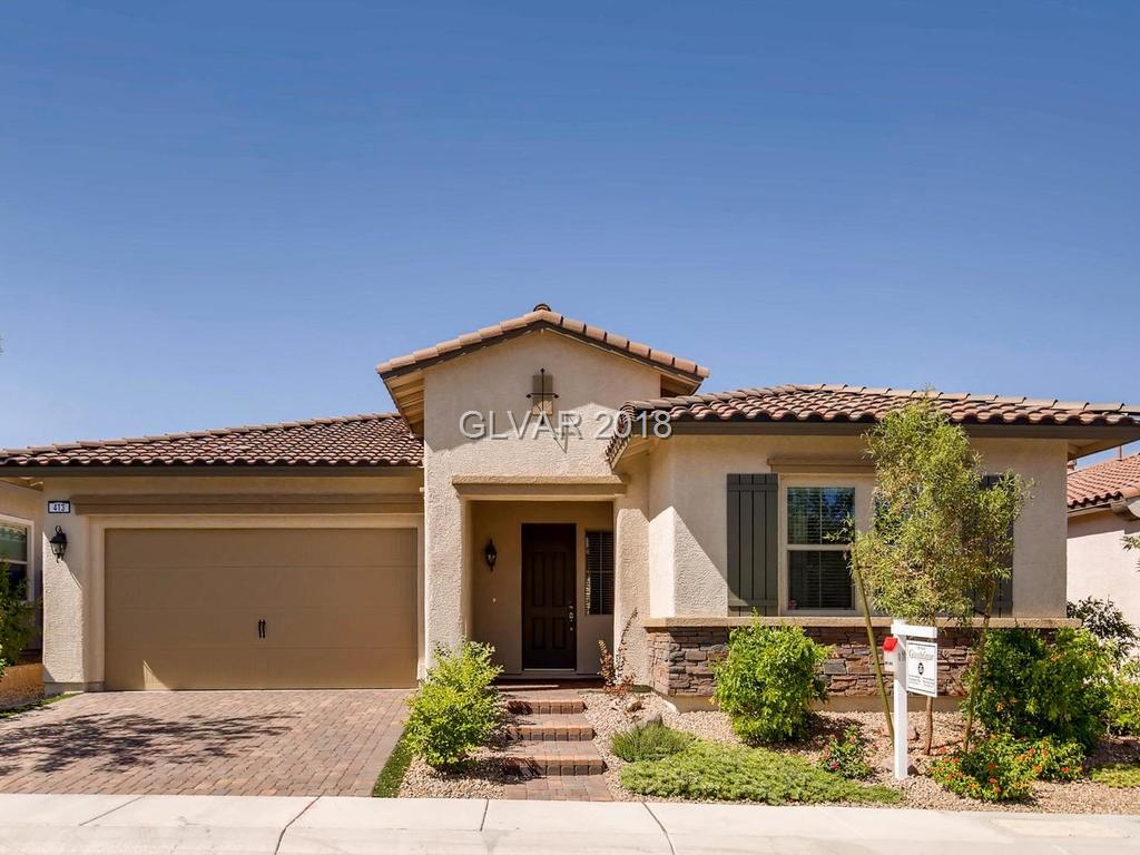 Stunning single story home located in the age qualified/active lifestyle community of Heritage at Cadence. Over $30,000 in upgrades including tile flooring throughout this open floor plan home. Amazing kitchen with Granite Counter Tops and Island. Perfect for entertaining. Two Spacious Bedrooms plus Den, Fully Finished 2 Car Garage with Epoxy Floor Finish. Large covered Patio with BBQ Stub. Fully Landscaped. This property is an absolute must see!