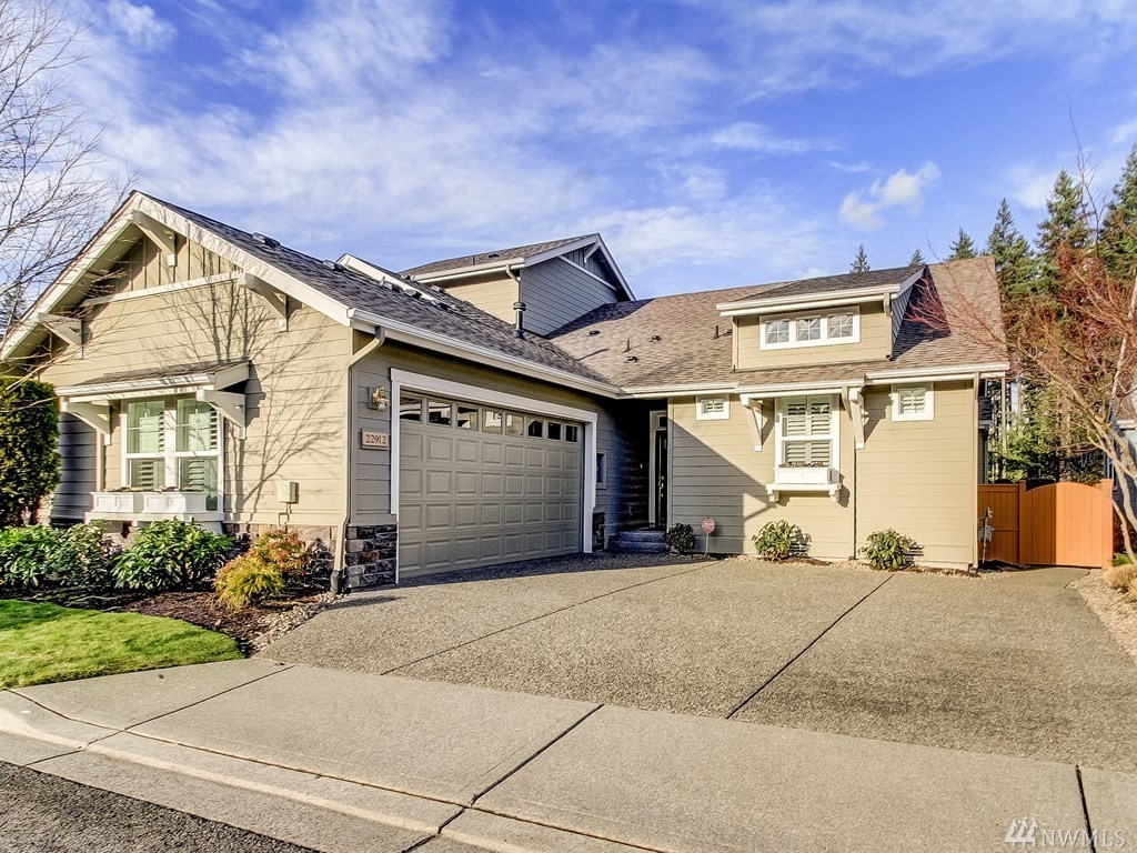 Enter this superb home and you'll know you're in a masterpiece a cut above the rest. With unprecedented upgrades, this exquisite residence has so many features, we've had to list them inside. Not evident are insulated interior & garage walls, improved attic insulation, triple Security System Pads & more. There's Sundance Polywood Shutters everyplace, Under-cabinet lighting, pullouts and full-extension drawers adorn the Kitchen & you'll love the California Closets Pantry and Closets throughout.