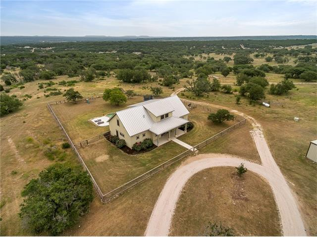 A beautiful 123+ Acre combined ranch located in northeast Burnet County.  A 2012 ICF Custom House that is over 3300 sq ft with commercial grade kitchen, THX Ultra media room, three bedrooms, three baths, outdoor kitchen, and saltwater pool.  Ranch includes a four stall equipment shed and barn with living quarters.  Ranch/House is marketed to sell as one property with two legal addresses.