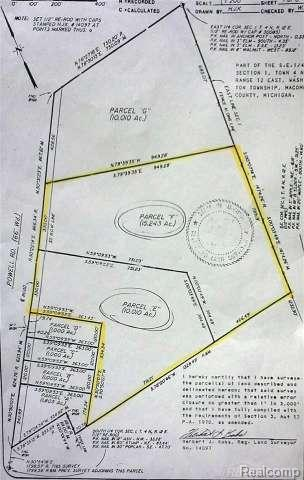25 acres zoned agricultural/residential - mostly cleared. previously used for farmland  Well/Septic to be installed by purchaser after closing