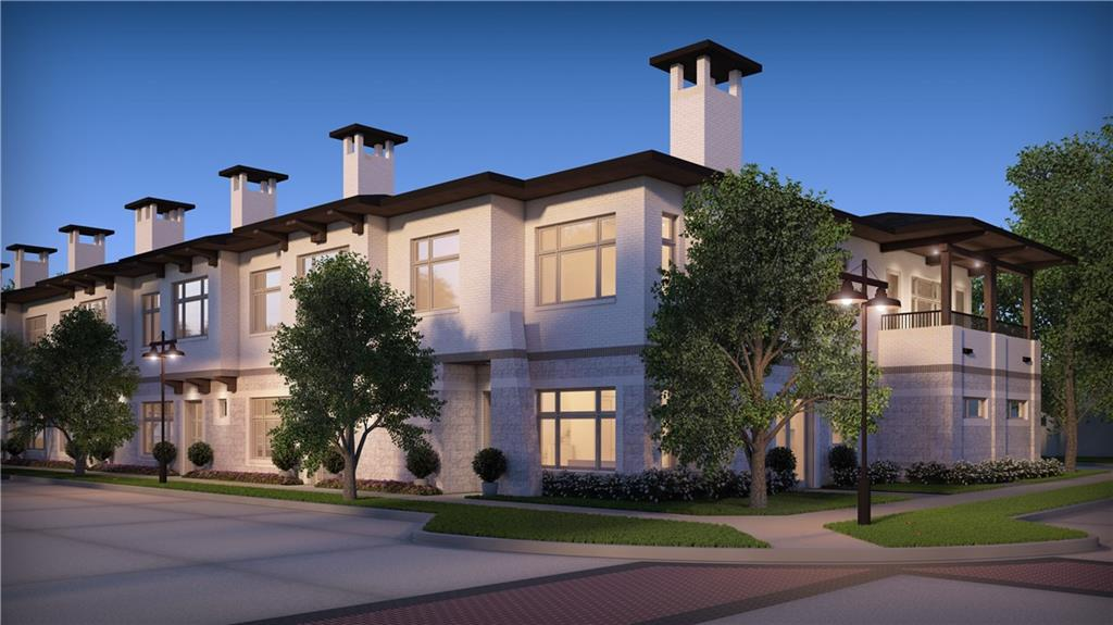 Luxury living in the nationally acclaimed master-planned Craig Ranch community! Beautiful new construction 3 bedroom, 3.5 bath townhome includes high-end finishes like 100% brick exterior, quartz countertops, gorgeous hand scraped & nail down hardwood floors, premium carpet thru out. Bright, open floorplan boasts 10' ceilings, 2 large skylights, 2 living areas, gas fireplace, oversized 3-car garage. Master suite includes a luxurious, spa-like bath & large covered balcony. Chef-inspired kitchen has Bosch stainless appliances. Craig Ranch offers a TPC golf course, world renowned health & fitness center, jogging & bike paths, a town center w shopping, restaurants and is minutes from every convenience imaginable!