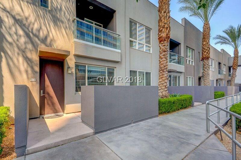 RARE OPPORTUNITY to Own a SPECTACULAR POOLSIDE TOWNHOME VILLA @ LUXURY 5-STAR PANORAMA HIGH RISE. EASY ACCESS to NEW RAIDERS STADIUM+CITY CENTER+T-MOBILE ARENA. 2 MASTER ENSUITES w/PRIVATE BATHS, EXPANSIVE DEN/OFFICE, NEWLY REMODELLED W/ STUNNING FLOORING & FRESH PAINT, STAINLESS APPLIANCES, STONE COUNTERS, MARBLE FLRS, GLASS BALCONY w/STRIP+POOL VIEWS AND POOLSIDE/SPA TERRACE PATIO.  GUARD GATED w/CONCIERGE/THEATER/GYM/SPA/LIMO/RESTAURANT/VALET!