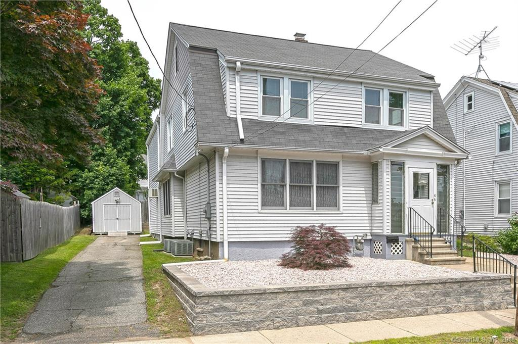 A rare oversized Dutch colonial in the heart of Paradise Green features a gas fireplace, newer furnace, central air and a trex deck with a full walk up attic in a quaint neighborhood that is perfect for raising a family.   This home features a formal living and dining room, family room, eat-in kitchen and two full baths.  Possible fourth bedroom, in-law apartment or master bedroom with sitting room.  This property has been meticulously maintaned over the years.   Take advantage of the ability to walk to local shops and parks with accessibility to all major highways and the train station.