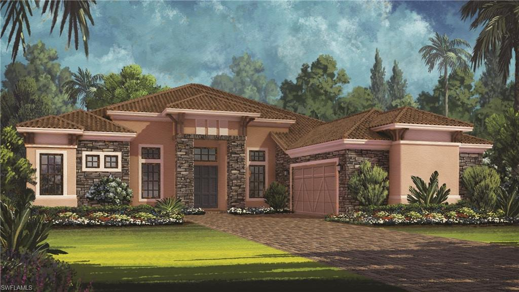 Under Construction - 3600Sq Ft. 3 Bedroom, 3.5  bath with a den. Beautiful Custom Pool.  Gourmet Kitchen ,roughed for outdoor kitchen, Crown Molding Throughout Loaded with upgrades.   Call sales center for details. Ready December. Photos of Model, not actual home.