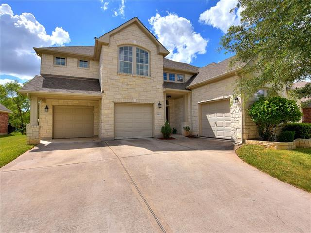 Price Improvement! Imagine enjoying coffee in the morning or beverages in the evening, on your quiet back porch, gazing upon the 17th fairway of the golf course! Beautiful, contemporary style home w/ soaring ceilings and flooding natural light. Updates include - Interior repainted in May 2018, updated wood and 12x24 tile downstairs, LED recessed lighting, stainless appliances & kitchen back splash! Full bed/bathroom downstairs. Minutes from schools, soon to open Costco, Stonehill shopping, tolls and more!