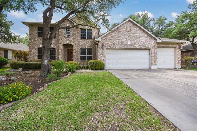 Amazing 2 story home with movie theater!  Bedroom and full bath down.  Large treed yard.  Highly coveted Oak Brook neighborhood, amazing RRISD schools, excellent neighbors, easy toll access, close by shopping.