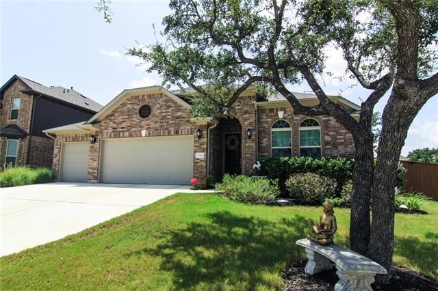 """Beautiful single story home located in Crystal Falls features 1918sf, 4 bedrooms, 2 baths and a 3 car garage! This beautiful home has Vinyl plank throughout all the main living areas, a large kitchen that includes SS appliances, granite and 42"""" cabinets! This home is situated on a beautiful corner lot!"""