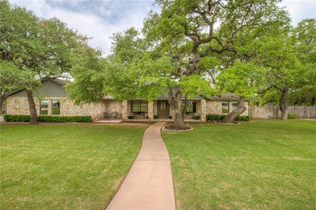 Gorgeous one story home w/ 4 bedrooms, 3 baths, office/study & a unique attached studio living arrangement, new wood flooring in bedrooms & office, HVACs & HVAC duct work in Bedrooms replaced 2017. Over half an acre lot in sought after Brushy Creek North.Huge Texas sized covered patio, pool, connections for an RV, & fire pit.  Plenty of room for an addition with required permits/buyer to verify. East facing! Top rated Cactus Ranch, Walsh middle, & Round Rock High. Transferrable Old Republic Home Warranty.