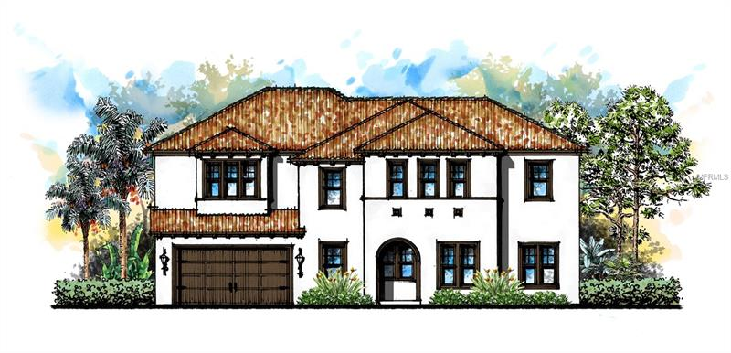 Pre-construction. To be built. Will be completed in late 2018 by Mobley Homes. This beautiful Mediterranean home will be nestled in the heart of South Tampa's Virginia Park neighborhood. This 5 bedroom/4 bath home has an attached two-car garage. Generous add-ons and upgrades include level 1 wood flooring throughout the house, level 2 cabinets in the kitchen and master bath, level 1 Zodiac quartz in the kitchen, tall baseboards, and heavy door and window casings. The expansive master bedroom en suite boasts a garden tub and walk-in shower. Enjoy plenty of closet space with his and hers master closets. Create a study, gym or playroom on the second story loft. Relax in the backyard while entertaining on the covered lanai. Relish South Tampa living at its best with this prime location that is only minutes away from Bayshore Boulvevard, Downtown Tampa, Hyde Park Village, and Channelside.