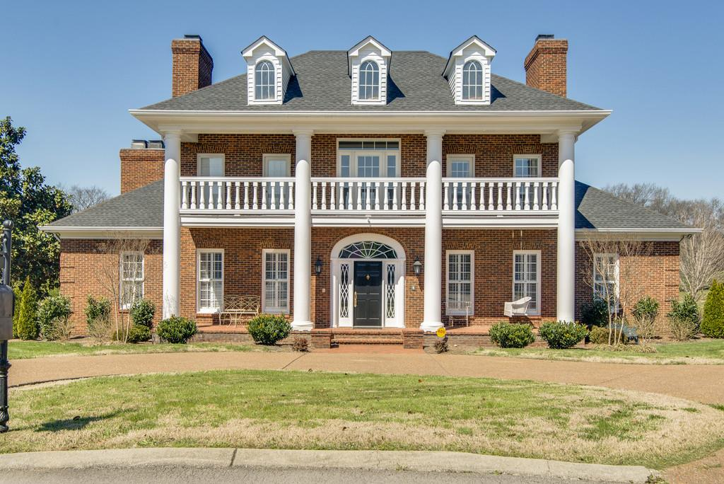 Elegant home in Brandywine Pointe.  Built-ins Galore! 5 fireplaces, crystal chandeliers, Italian marble, outdoor fireplace and wood-burning pizza oven, luxurious kitchen w/ built in refrigerator.  Super private courtyard & backyard backs to common area. Huge media room with built in bar.  N'hood pool, tennis, clubhouse. You have to see this one!
