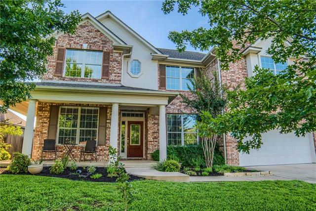 Nestled in Cedar Park's desirable Deer Creek Ranch neighborhood, this charming 4BR is sure to impress! Open floor plan w/ two-story family & large island kitchen perfect for entertaining! Also features formal dining, separate study, tile & wood floors, master on main, game room up & well-sized guest rooms. Plenty of space in the extended garage! From the welcoming front porch to the inviting living areas, there's no shortage of beautiful spaces in this home! Close to schools & neighborhood pool! Must see!