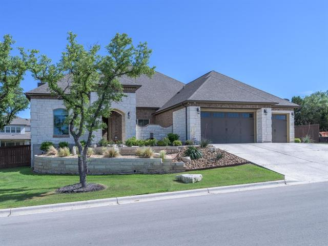 Single story home built in 2016 on oversized, corner lot. High ceilings & open floor plan. Gourmet kitchen w/ Kent Moore custom cabinets, Thermador appliances, granite countertops, & huge center island. Master suite features dual sinks, garden tub, & walk-in shower. Two covered patios, 1 w/ a built-in kitchen & the other w/ a fireplace. Minutes to award-winning schools, community center pools, playgrounds, fitness center, sport courts & more! 10-miles west of the Y in Oak Hill & 8-miles east of Dripping.