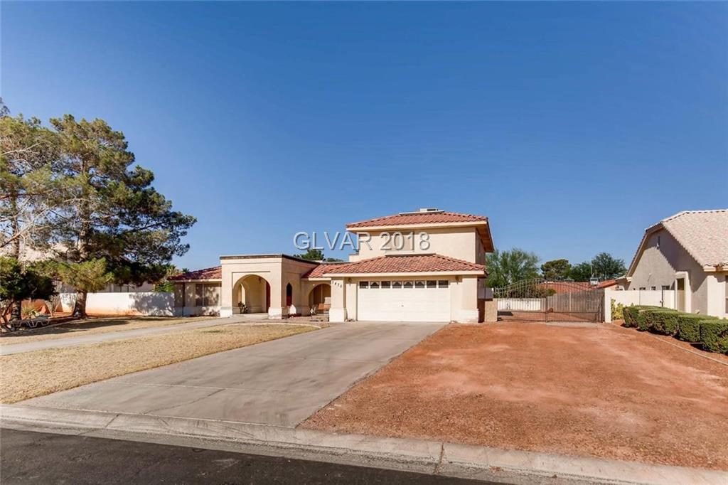 Only 4 miles from RAIDERS stadium!! Rare custom home previously owned by the builder. Features almost 1/2 ACRE LOT W/ Huge Shed that can be used as Shop, or you can easily store RV's, Boats, and toys. CVPatio conversion attached to down stairs Master W/ kitchenette seperate entrance,  3 Large masters, and a Jack and Jill with sinks located inside the rooms. Professional pool table, Freezer, & appliances included. Lots of Builder perks A MUST SEE!