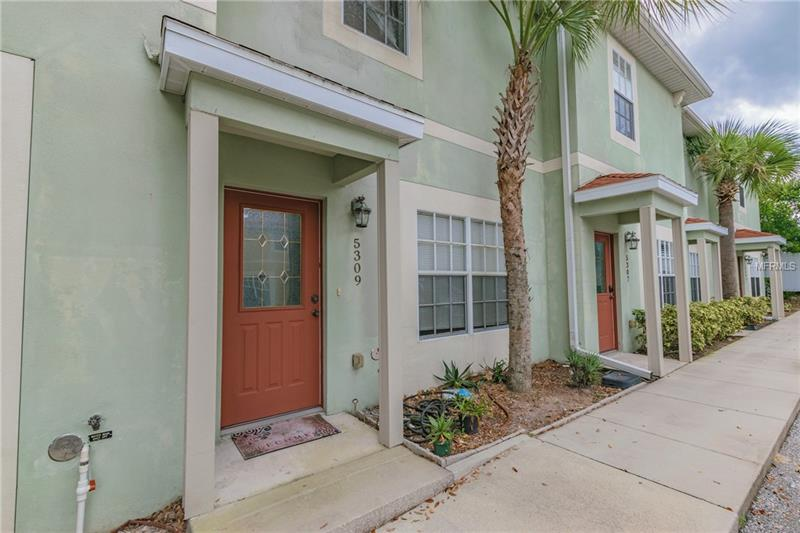 SHORT SALE!  Great townhouse located in Tampa.  With 2 bedrooms and 2 1/2 baths this townhouse is great for a starter family.  Relax in the upstairs large master tub.  Nice size bedrooms complete with plenty of closet space. OPEN eat-in kitchen for convenience. Close to 275 for easy commute. Conveniently located near shopping. Low monthly fees!