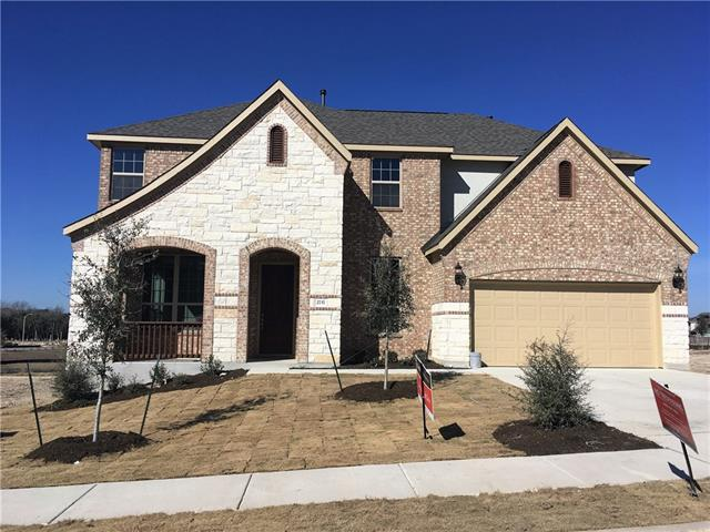 Spacious Brown Floor Plan, Master Bedroom Bay Window, Separate Master Mudset Shower and Drop-in Tub, Granite Countertops, Custom Tile Backsplash, Covered Back Patio, Full Sprinkler/Sod in Front & Rear Yards. See Agent For Details on Finish Out. Available Now!