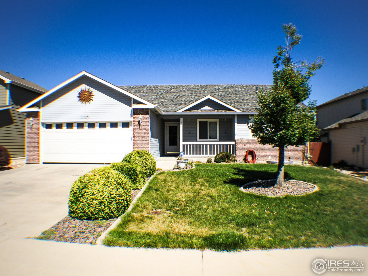 This delightful ranch style home has a finished basement with a wonderful storage room.  There are 4 bedrooms, 3 bathroom, laundry room, large pantry and a fantastic open layout. Included in the sale is a spacious shed in the back yard.  The residence is located in a charming neighborhood in West Greeley and there is an fantastic pool within a few blocks of the property.