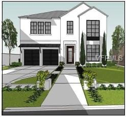 Pre-construction: to be built. Meticulously designed custom home, one lot (175') from prestigious Bayshore Boulevard - on one of the highest elevations in S. Tampa, does not require flood insurance! Home is a 4/4/1, custom designed 3,562 sf contemporary home, embracing the nearby inner Bay waterfront with the intimacy of interior courtyard relaxation & flexible living spaces. Inviting traditional entry expands into contemporary, open entertaining & gathering spaces. The focal stairway leads to a spacious, comfortable master suite, in addition to family & guest bedrooms. The rear courtyard embraces nature while providing privacy for recreation & gathering, as well as quiet retreats.  The location is immediately adjacent to Bayshore Boulevard & nearby MacDill Avenue for convenient north-south commuting. With gorgeous views, this custom built home is right in the heart of Tampa- only one lot in from Tampa's premiere waterfront street! Call to schedule your own private viewing/meeting.