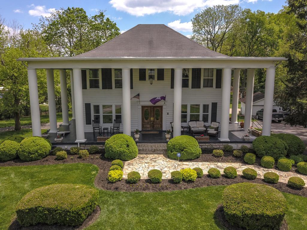 """Welcome to """"The Grove""""  A beautifully renovated 1920's Southern Antebellum Estate home, sitting on just under 2 flat acres within minutes of downtown Nashville in the heart of the Oak Hill community.  Properties like this do not come available very often. Please allow 24 hr notice for viewings."""