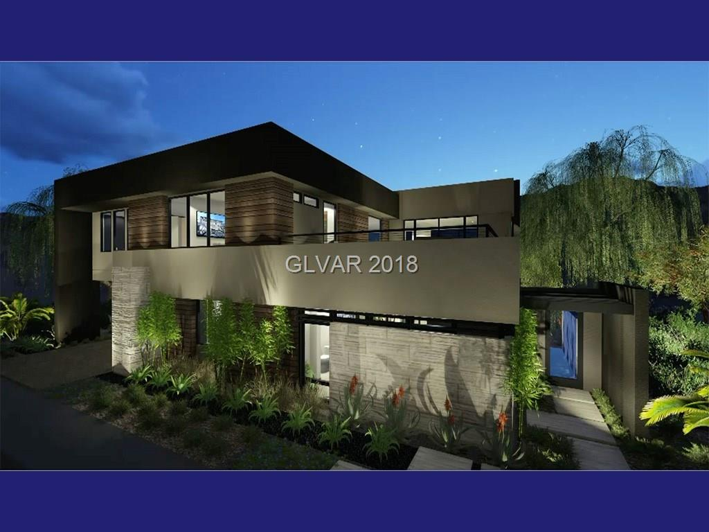 A wonderful opportunity to own a new, Blue Heron home in a fantastic, Seven Hills neighborhood. A gated enclave of just 33 homes, Marquis Seven Hills is surrounded by rolling hills and the Rio Secco golf course. Blue Heron Design Build is known for it's stylish and efficient, Vegas Modern architecture. Set in a quiet cul-de-sac, the Jade plan flows perfectly from beautiful entry courtyard to large, bright great room to large backyard w/pool & spa
