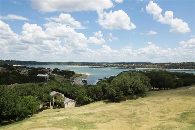 This gorgeous 1-story has one of the most amazing, lake/hill country views in Lago Vista.  Home has newer roof, AC and hot water heater.  Home backs to old Highland Lakes golf course (currently closed).  Flat driveway allows parking for multiple cars, plus the 2 car garage.  The large, enclosed sunroom is completely surrounded with windows for lake views from all angles.  Master Bedroom, living area, dining area, kitchen and wrap-around deck have lake views.  Parks, boat ramps & Fitness with low POA fee.