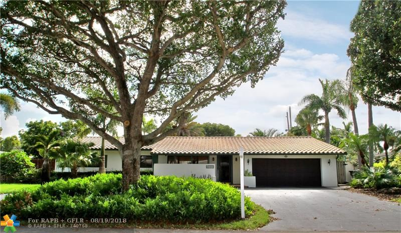 Charming 4/3 home located in heart of Coral Ridge.  Large master bedroom 25x24, 10' foot vaulted ceilings with fireplace. Two huge closets.  Impact windows and doors.  Spacious backyard with recently remodeled pool. Split zone A/C (one unit 2012, second unit 2018). Skylights throughout house.