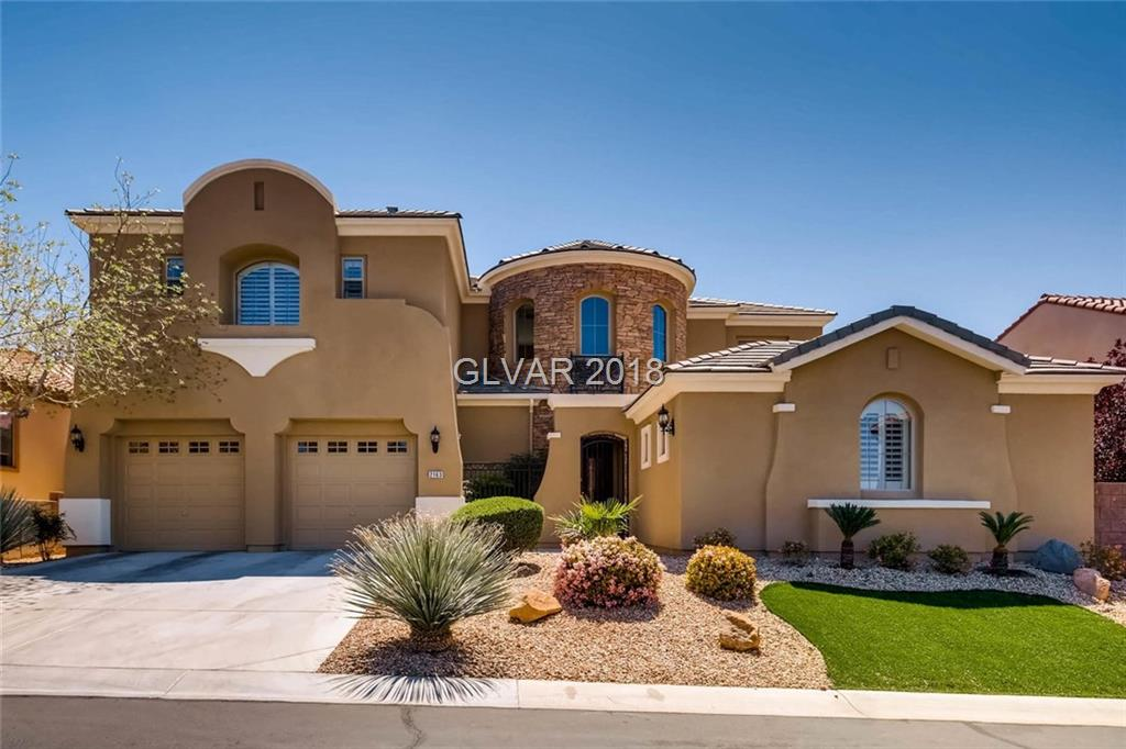 2163 PONT NATIONAL Drive, Henderson, NV 89044