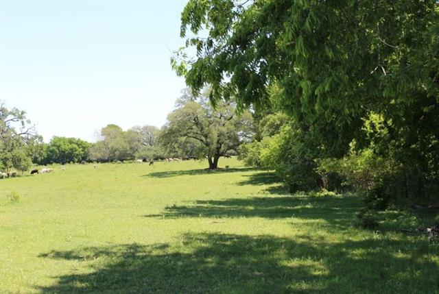 This L-shaped piece of property has grazing, 2 ponds and trees. It currently has a grazing lease on it. Peaceful vistas.