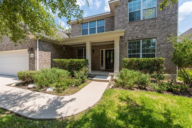 Fabulous home in desirable community that is walking distance to Deer Creek Elementary in highly acclaimed LISD! Open concept floor plan*Master down*secondary bedroom & full bath down~perfect for guests or nursery! 3 bedrooms & 2 full baths up*game room & desk nook*decked attic with walk in access*Cook's dream kitchen with island, breakfast bar, granite & ss appliances*dedicated office*flex space for a formal dining room or 3rd living room*Back yard full of trees and privacy*Community pool, park & trails!