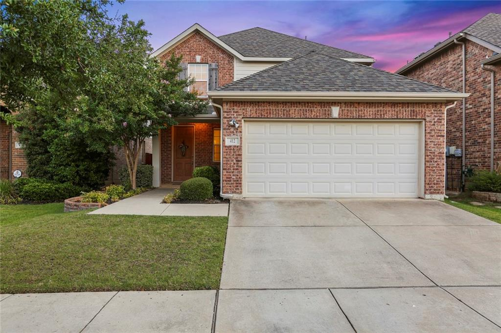Beautiful home in the highly desired Lantana neighborhood. This home features an open floor plan with large family room with fireplace, study with French Doors which can be used as formal dining or living. Spacious kitchen elegant white cabinets, & stainless steal appliances opens to breakfast nook. Large, master up including master bath with dual sink & oversized  shower. The backyard is perfect for entertaining under the covered patio. Community boasts  scenic walking trail, canopy & pavilion complete with built-in grills & picnic tables near the pond and fountain.  Enjoy 5 pools, sprinkler park, work-out facilities.HOA includes front yard maintenance!