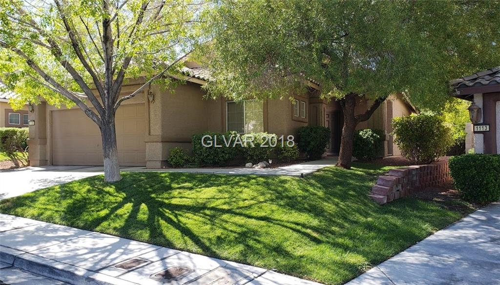 This lovely, sought after SINGLE STORY home in the heart of Summerlin, and just around the corner from the Arbors park is ready for its new owner.  Home features: (3) three bedrooms, (2) two full baths, a great room with a fireplace, and surround sound. It has a private backyard with access from the front. The home has been well cared for and has just received new interior paint, and steamed carpets/tile. Schedule your showing today.