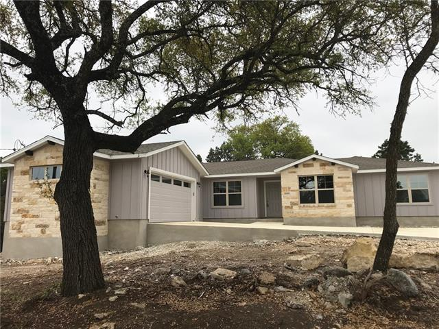 Beautiful spacious home with hill country views in Lago!  Conveniently located near 1431. Hardwood floors with elegant tile and minimal carpet.  Master Suite has garden tub and separate shower, double vanity and walk in closets.  Back patio is covered so you can enjoy being outdoors.