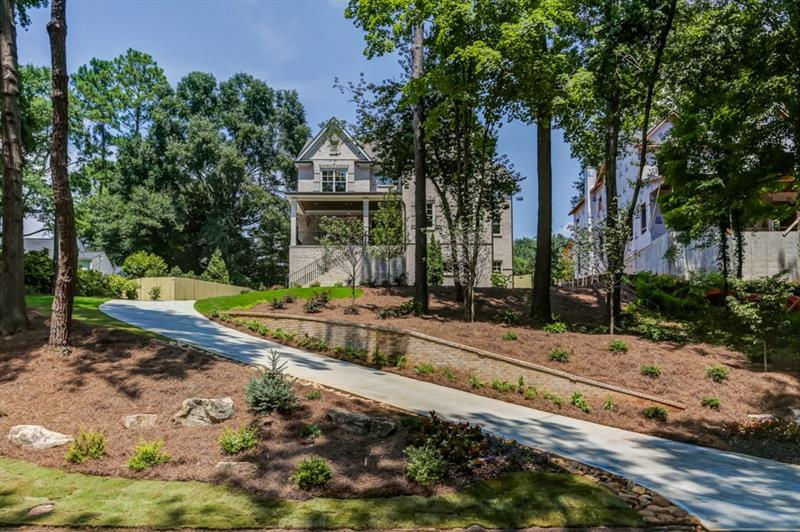 New construction by Atlanta's Premier Builder of 40 years; J. Patrick O'Donnell, Inc. Great family home with stunning view. 3 finished levels complete with high end finishes, elevator shaft, 3 fireplaces, 3 car garage, and covered porch. Sought after Morris Brandon Elementary location. Photos coming soon! Home will be complete June 2018. Quiet street off Peachtree Battle.